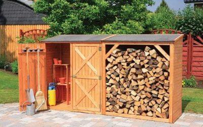 Comment entreposer du bois dans son jardin ?